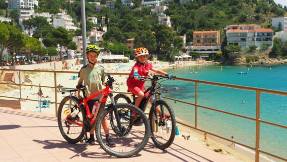 ebike adventure kids spain